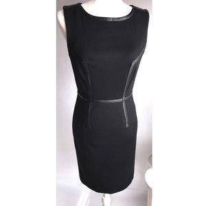 Trina Turk Black Pointe Sheath Dress | 2